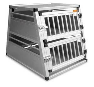Bilde av Toetasjes aluminium hundebur til bil 12-15kg