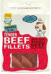Bilde av Saftige biff-strimler for hund