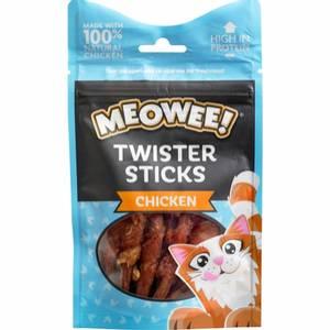 Bilde av Meowee kattegodbit - kylling twist