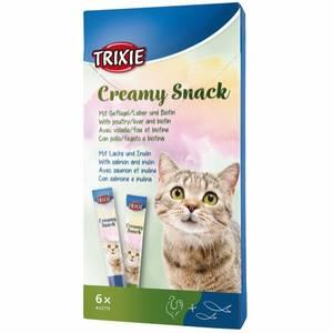 Bilde av 6pk creamy kattesnacks