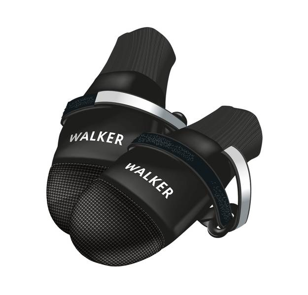 Sorte walker comfort hundesko 2pk