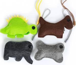 Bilde av Trendy hundeposeholder i filt