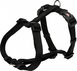 Bilde av Sort fleksibel H-sele til hund