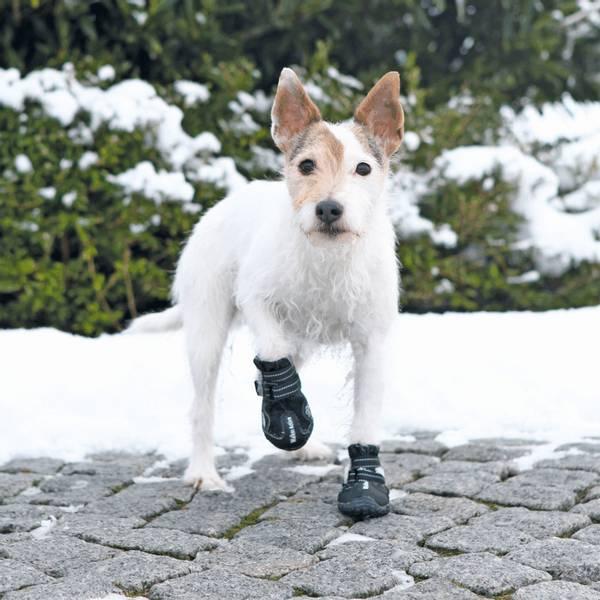 Sorte walker active hundesko 2pk