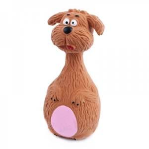 Bilde av Kjegle hundeleke i latex, hund