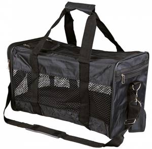 Bilde av Sort reisebag til katt og liten hund, 2 str