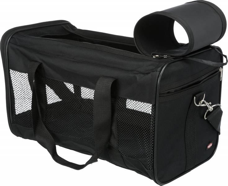 Sort reisebag til katt og liten hund, 2 str