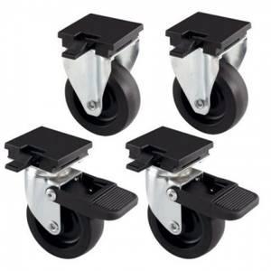 Bilde av 4pk hjul til Gulliver transportbur 4-5-6-7