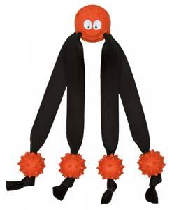 Bilde av Oransj liten edderkopp hundeleke