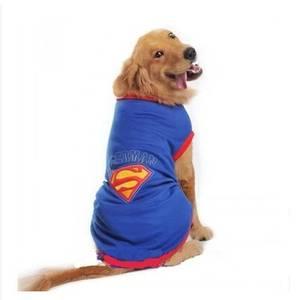 Bilde av Supermann tanktop til mellomstore og store hunder