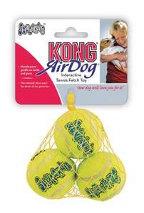 Bilde av S Kong Squeaky tennisball 3pk