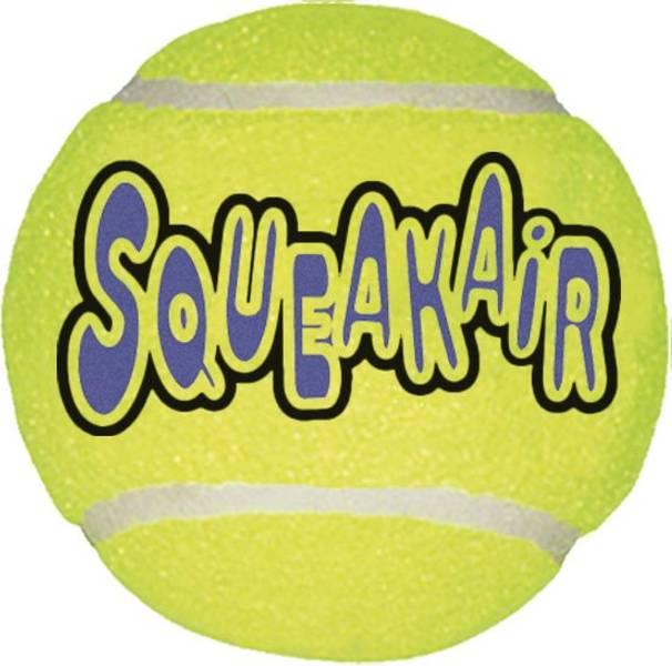 M Kong Squeaky tennisball 3pk
