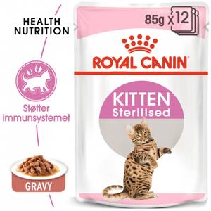 Bilde av Royal Canin Kitten Sterilised Gravy, 12 x 85g