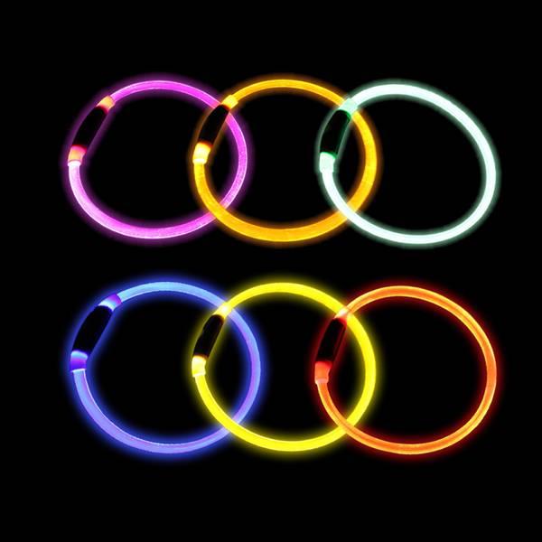 LED ring med USB lader, 3 str