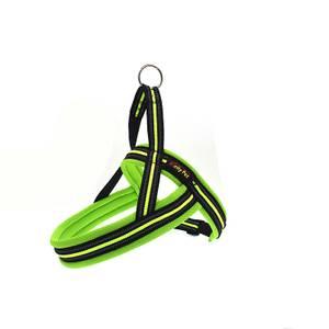 Bilde av Neon hundesele med refleks og padding