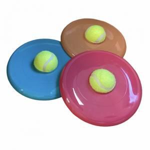 Bilde av Frisbee med tennisball til  hund
