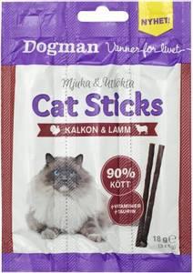 Bilde av 3pk Cat Sticks til katt med Kalkun&Lam