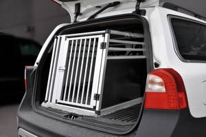 Bilde av Aluminium hundebur til bil, S/M 12-15kg