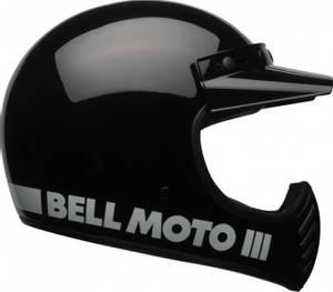 Bilde av BELL Moto-3 Black Classic