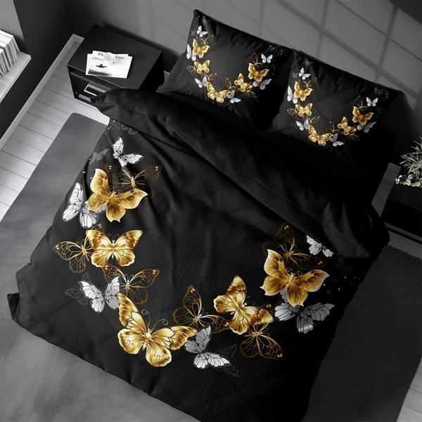 Bilde av Påslakanset Butterfly Black