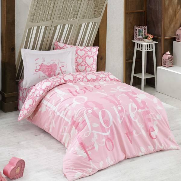 Bilde av Påslakanset Love Pink