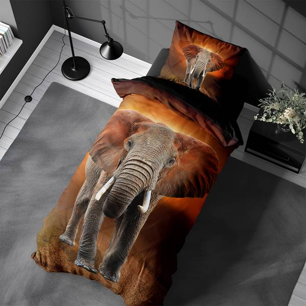 Bilde av Påslakanset Elephant