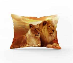 Bilde av Putetrekk Lion Love 50x60