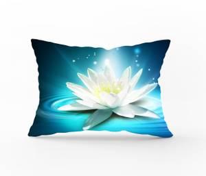 Bilde av Putetrekk White Flower 50x60