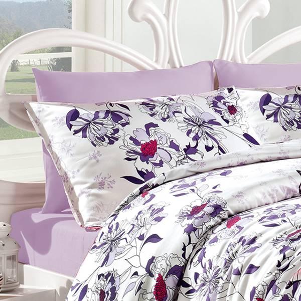 Bilde av Putetrekk Kelebek Lilac 70x100
