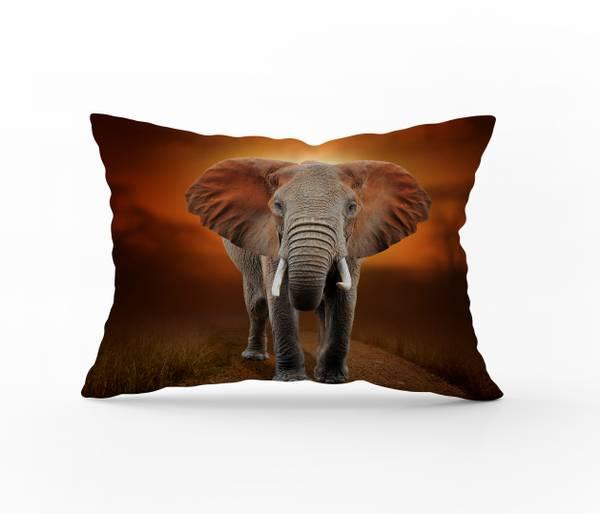 Bilde av Putetrekk Elephant 50x70