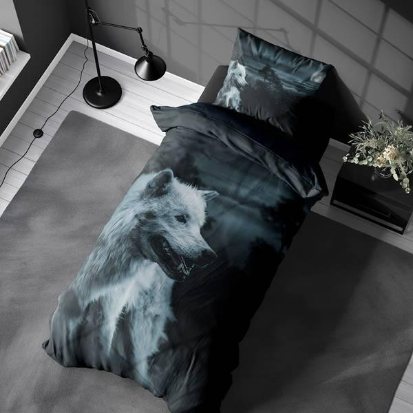 Bilde av Sengesett Dark Wolf