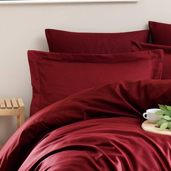 Bilde av Putetrekk Solid Color Bordeaux 50x70