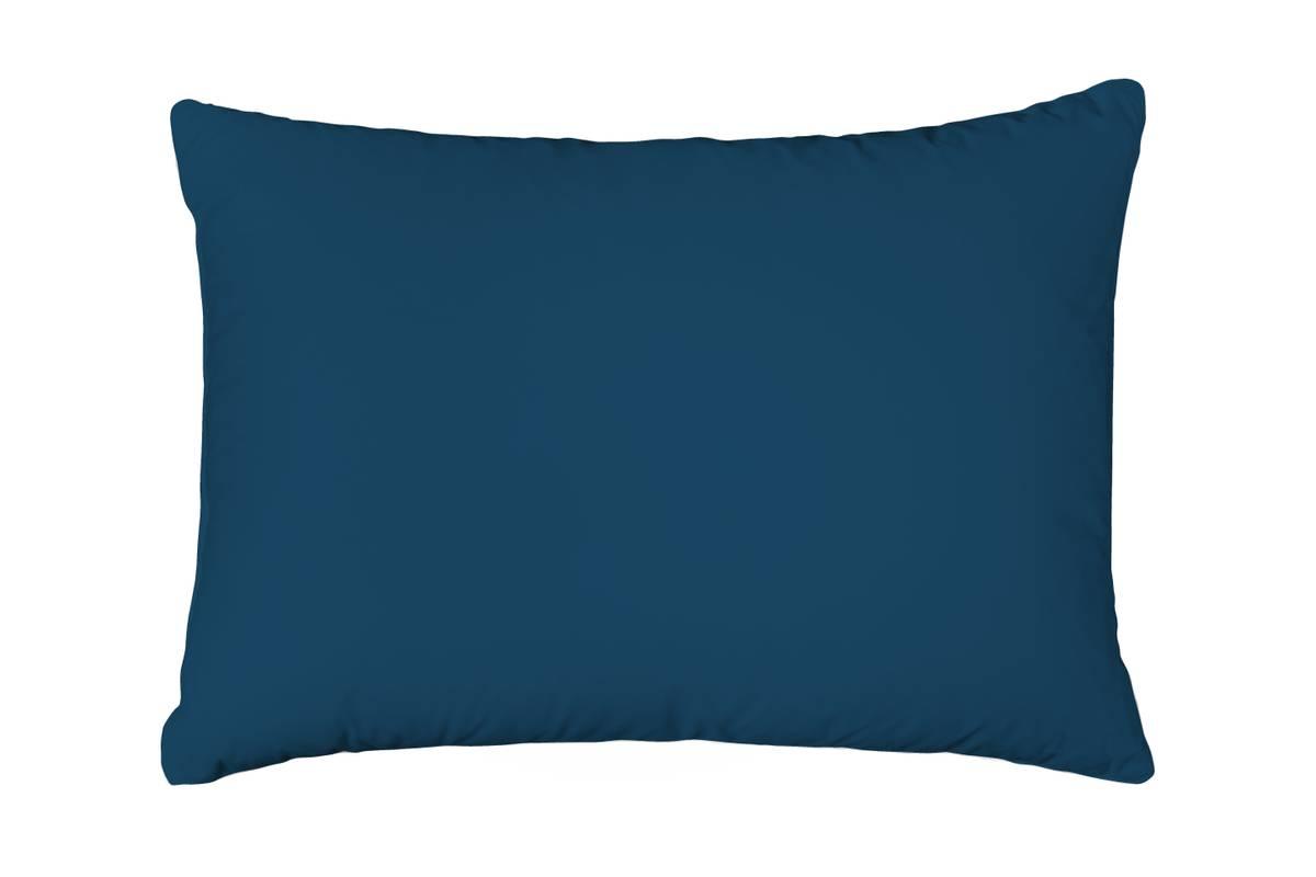 Formsydd Satenglaken Solid Color Oil Blue m. putetrekk 160x200