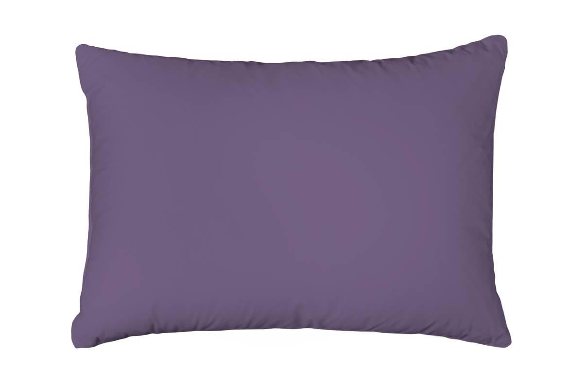 Formsydd Satenglaken Solid Color Purple m. putetrekk 160x200