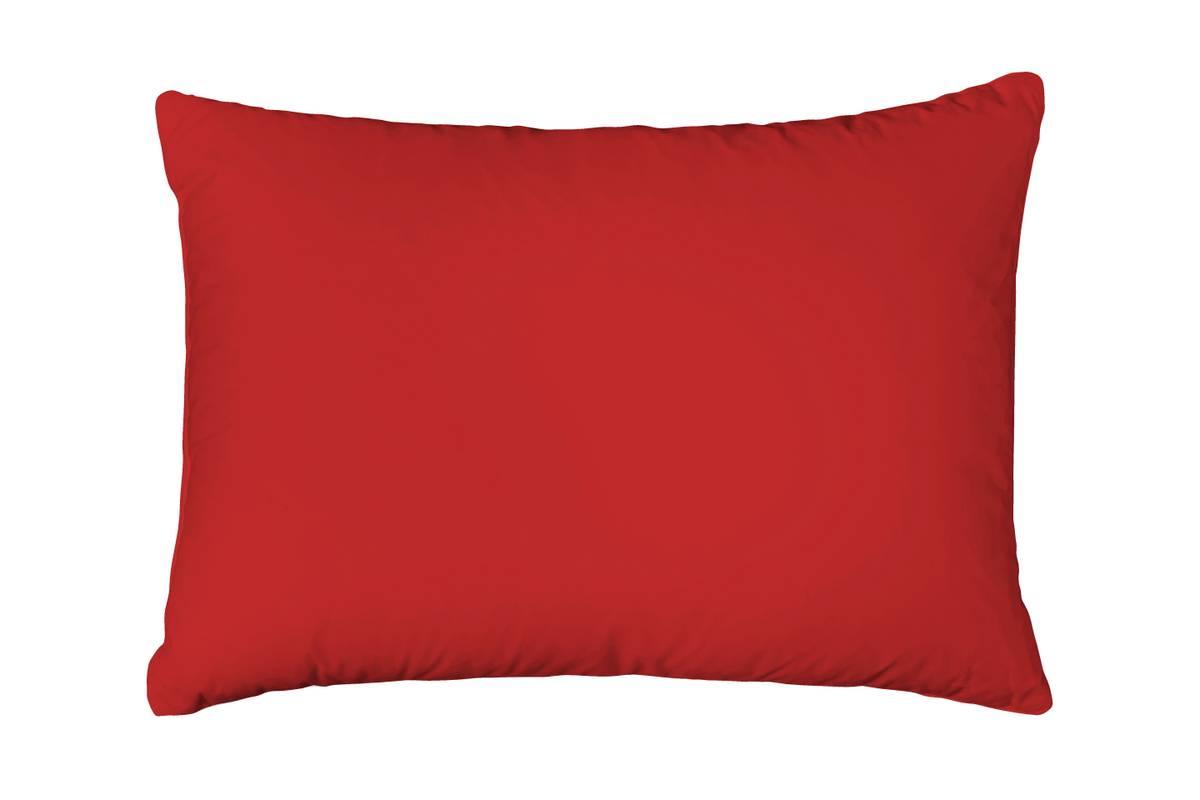 Formsydd Satenglaken Solid Color Red m. putetrekk 160x200