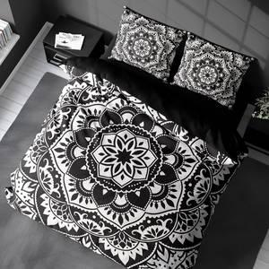 Bilde av Sengesett Mandala Black & White