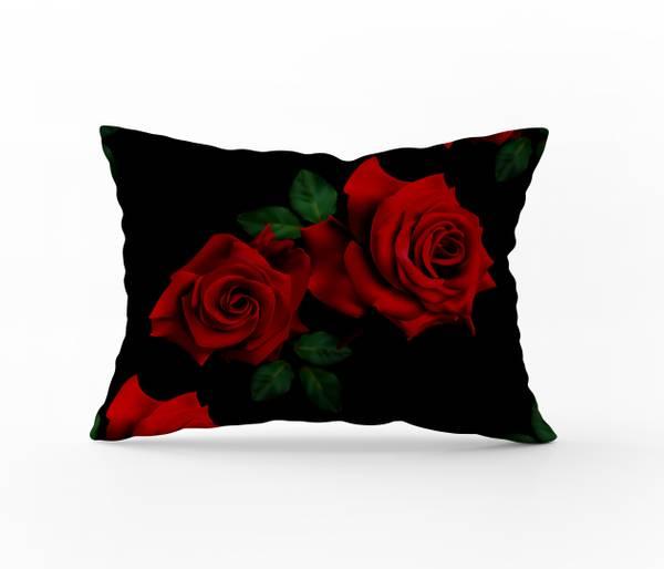 Bilde av Putetrekk Roses Red 50x60