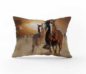 Bilde av Putetrekk Wild Horses 50x70