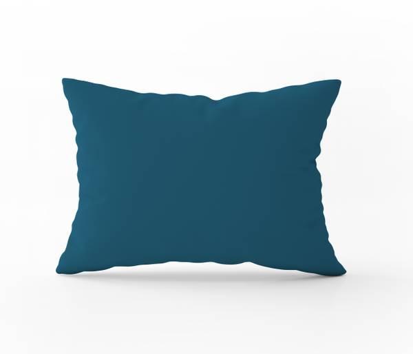 Bilde av Putetrekk Alura Turquoise Solid Color 50x60