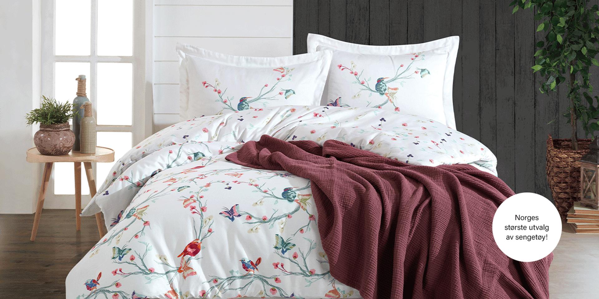 Norges største utvalg av sengetøy