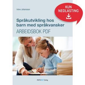 Bilde av Språkutvikling for barn med språkvansker PDF