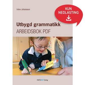 Bilde av Utbygd Grammatikk – PDF arbeidsbok