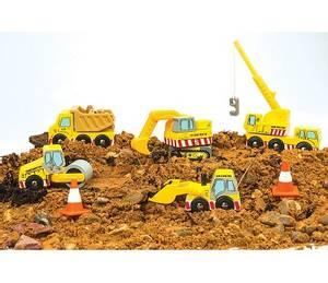 Bilde av Le Toy Van Biler og Maskiner til Byggeplass