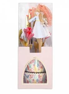Bilde av Meri Meri Magical Princess Cupkake Kit | 12 stk.