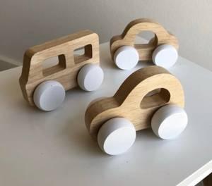 Bilde av byASTRUP Wooden Car 3