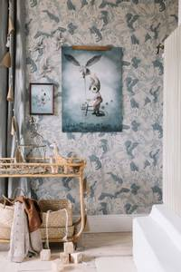 Bilde av Mrs. Mighetto Mr. Simon | 50x70 cm.