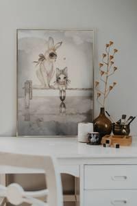 Bilde av Mrs. Mighetto Hello Miss Julia | 50x70 cm.