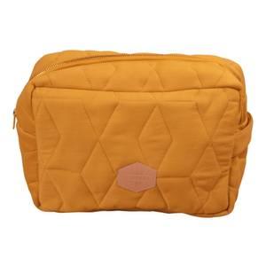 Bilde av Filibabba Toalettveske Soft Quilt Large | Golden Mustard