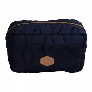 Bilde av Filibabba Toalettveske Soft Quilt Large | Dark Blue