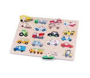 Bilde av New Classic Toys Bil Puslespill